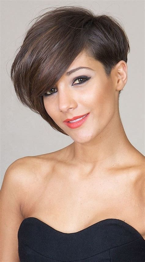 hairstyles cut short on one side and long on other side 22 short hairstyles for thin hair women hairstyle ideas
