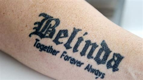 girlfriend name tattoo ideas 31 boyfriend name tattoos inspirationseek
