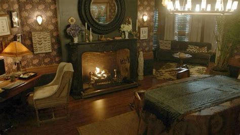 wiccan home decor decorating ideas inside the red victorian house on the tv show quot witches of
