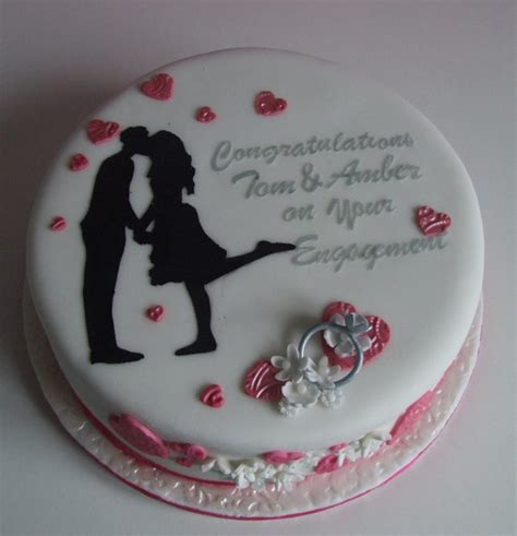 Engagement Cakes by Engagement Cake Cakecentral