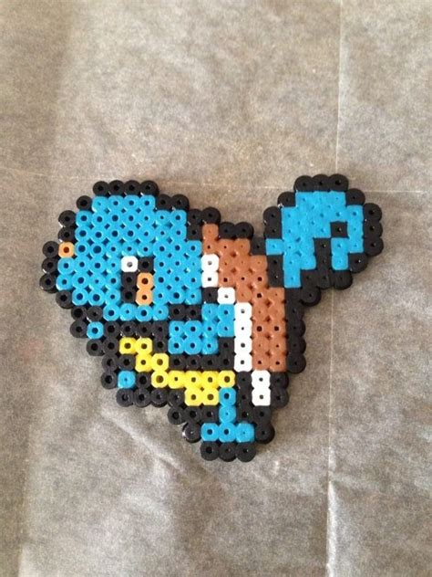 squirtle perler image gallery squirtle perler