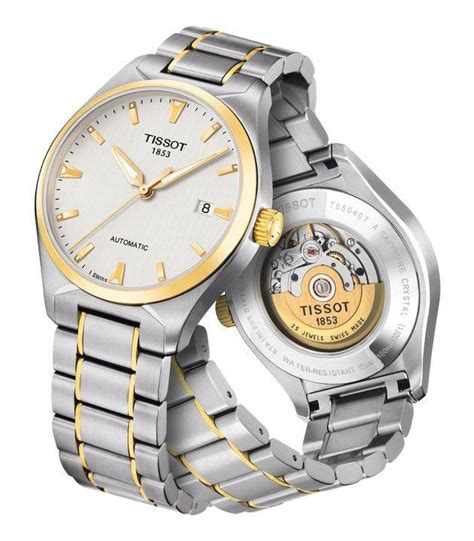 Tissot Skeleton 1853 Black White new tissot watches for and gentlemen review
