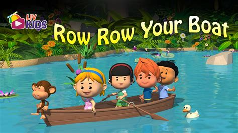 row row row your boat with lyrics and action row row row your boat with lyrics liv kids nursery