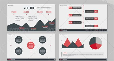 Creative Business Report Template 14 Great Powerpoint Templates For Annual Report Design