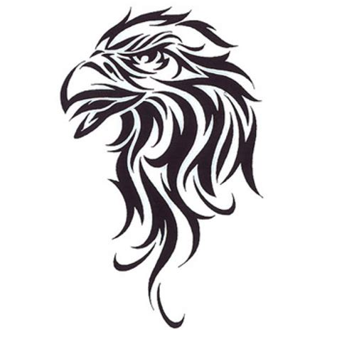 tribal eagle head tattoo 40 tribal designs