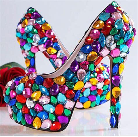 Sandal Jelly Flower Glass glass slipper heels promotion shop for promotional glass