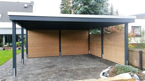 design carport holz beispiele moderner doppelcarport carporthaus