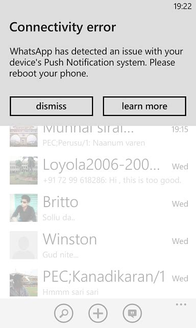 nokia lumia 520 whatsapp test speed of messages issues with whatsapp windows central forums