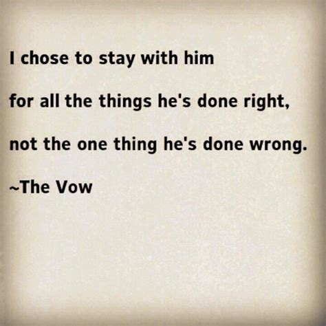 the vow love quotes from the vow quotesgram