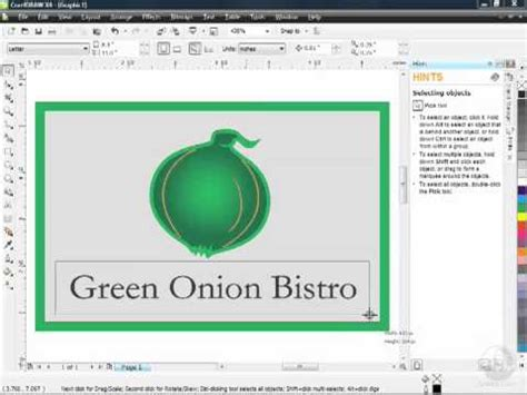 tutorial corel draw x4 poster corel draw x4 tutorial find the font of text inlclude in