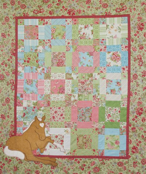 Free Applique Patterns For Baby Quilts by Applique Baby Quilt Page 4