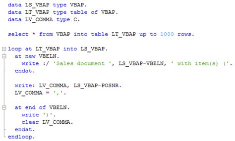 tutorialspoint sap abap how to write read statement in sap abap