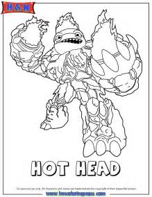skylander coloring pages skylanders giants coloring page h m