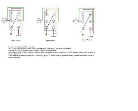 power window switch schematic pelican parts technical bbs