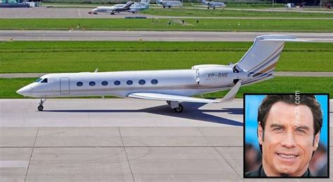 Never Mind His 5 Planes Travolta Cares About The Environment the nine most luxurious jets in the