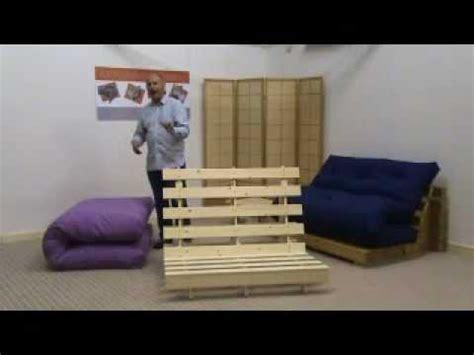 Funky Futon Co Frame Assembly Youtube