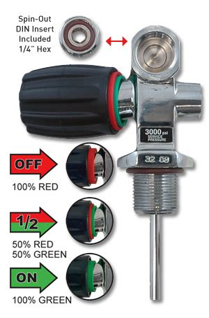 thermo xs scuba pro valve din buy online in canada