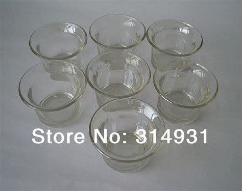 Small Glass Candle Holders Bulk Wholesale 5pcs Lot Tealight Glass Cup Glass Candelabras