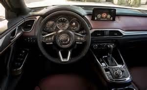 Interior Mazda Cx 9 مازدا تكشف رسميا عن Cx 9 2017 الجديد كليا