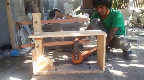 Alat Bor alat scroll saw menggunakan mesin bor diy