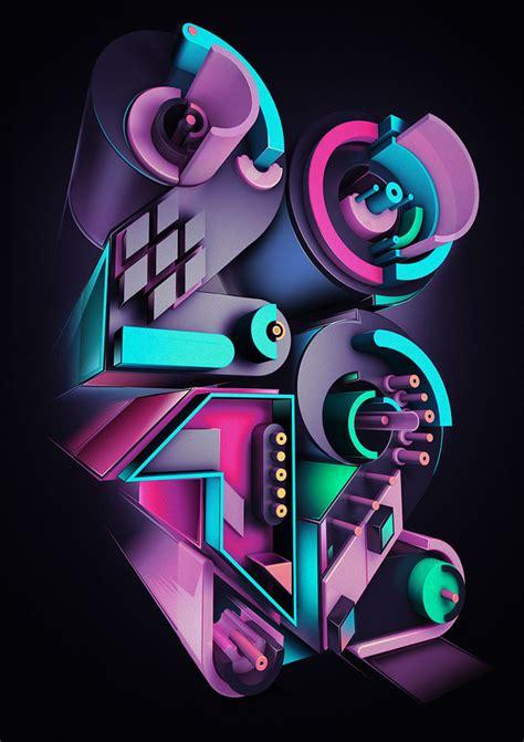 layout artist 3d creative unique graphic design by rik oostenbroek 14
