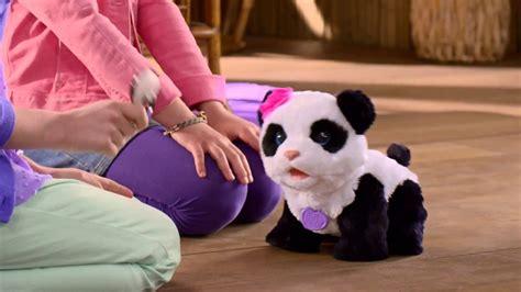 baby panda pom pom fur real friends hasbro youtube