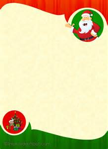 Christmas printouts stationery and letterheads