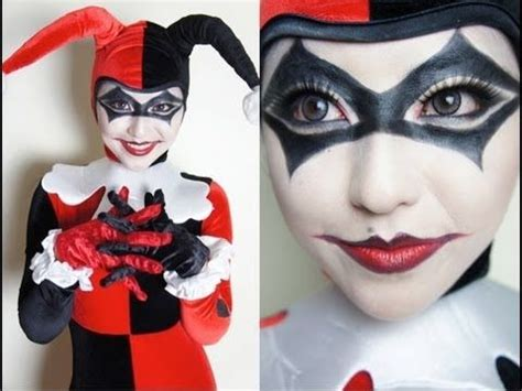 harley quinn makeup tutorial 17 best images about harley quinn eye makeup on pinterest