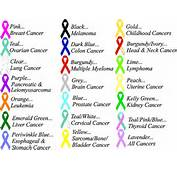 Cancer Ribbon Color Chart – Do It And How