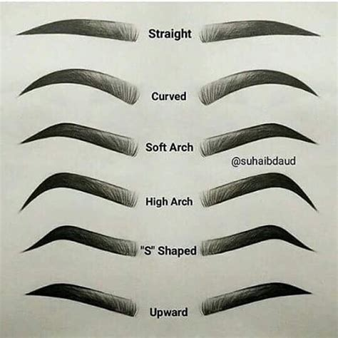 how to soften hair on eyebrows and get them to lay down which one is yours mine soft arch kudou eyebrows