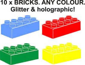 10 x lego brick wall stickers for border boys bedroom vinyl silhouettes wall decals amp stickers ebay