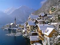 Hallstatt In Winter Wallpapers And Images  Pictures