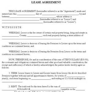 How to create a residential lease agreement
