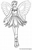 Barbie Fairies Coloring Pages