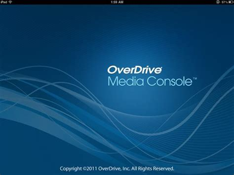 overdrive media console app overdrive media console app for review the gadgeteer