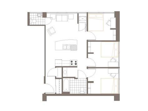 3 bedroom 1 5 bath layout 2040 lofts
