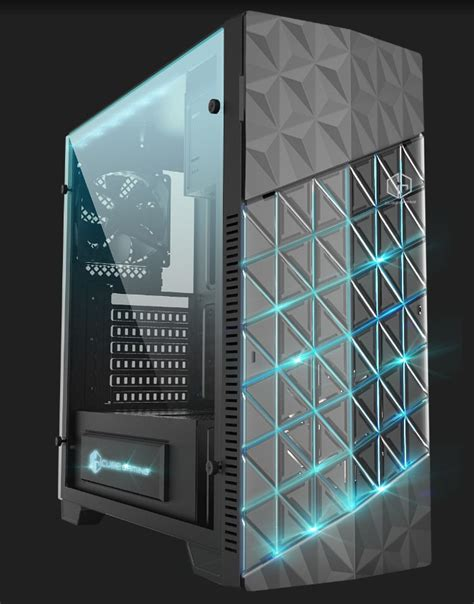 Cube Gaming Iklo White Acrylic Window Gaming Chassis cube gaming indonesia