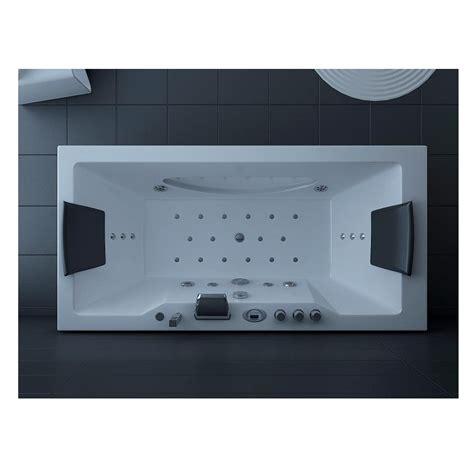 whirlpool vasca idromassaggio vasca idromassaggio 180x90 con 26 idrogetti doppia pompa