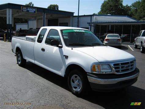 ford truck white 2000 ford f150 xl extended cab in oxford white photo 4