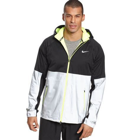 Hoodie The Flash I Run Things 1 lyst nike shield flash hooded running jacket in black for