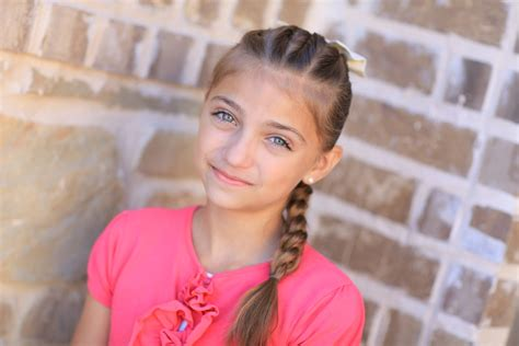 cute 9 old girl pull through braid easy hairstyles cute girls hairstyles