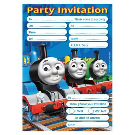printable birthday invitations thomas the tank engine thomas friends party invitations thomas the tank