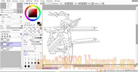 tutorial paint tool sai indonesia pdf cara mewarnai anime di paint tool sai mudah untuk pemula