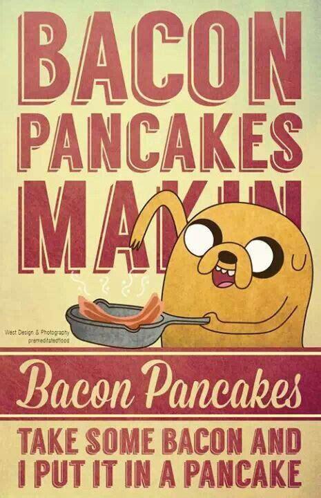 Kaos Adventure Time Bacon Pancakes adventure time bacon pancakes tv tunes