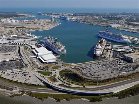 Photos: Six cruise ships dock in Port Canaveral on same day