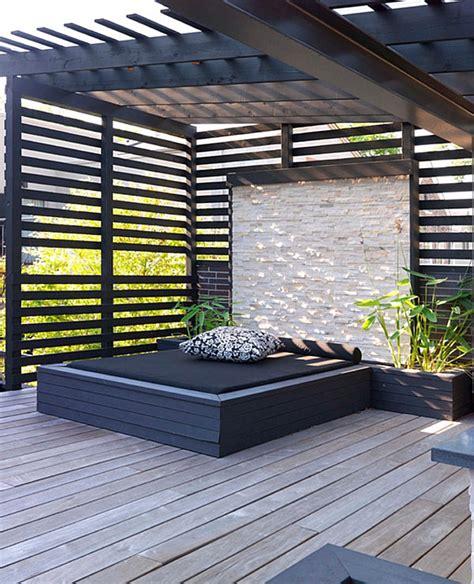 moderne wandlen moderne terrassengestaltung coole lounge m 246 bel im
