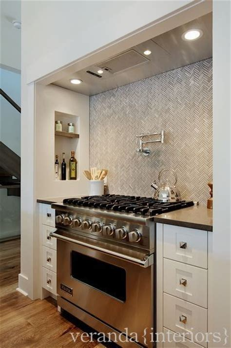 herringbone kitchen backsplash design ideas