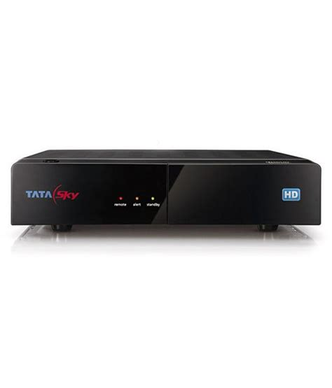 1 Set Top buy tata sky hd set top box 1 month dhamaal mix hd pack