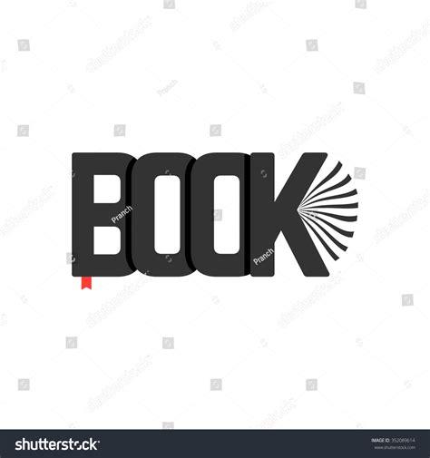 logo modernism ebook black book logo bookmark concept booklet stock vector 352089614