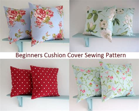 simple pattern for a cushion cover pdf sewing pattern simple envelope cushion cover